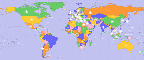 Global business projects home world map gumiabroncs